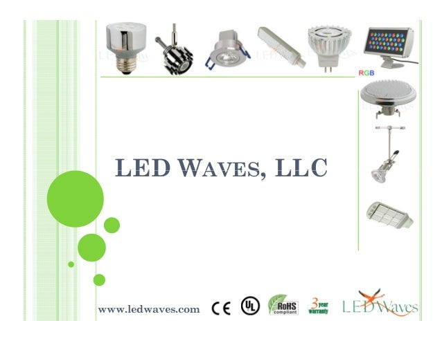 LED WAVES, LLCLED WAVES, LLC www.ledwaves.com