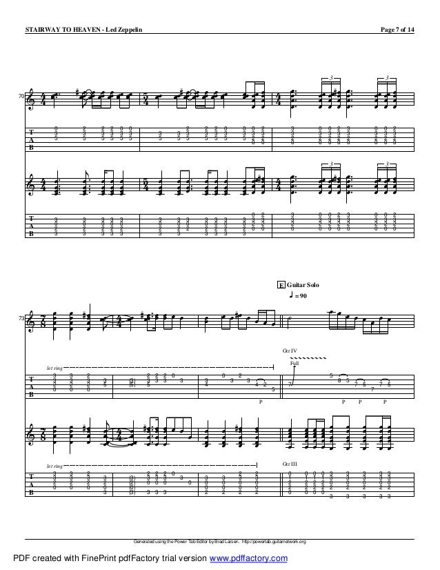 Stairway To Heaven Live Tab Pdf File Cupcrise