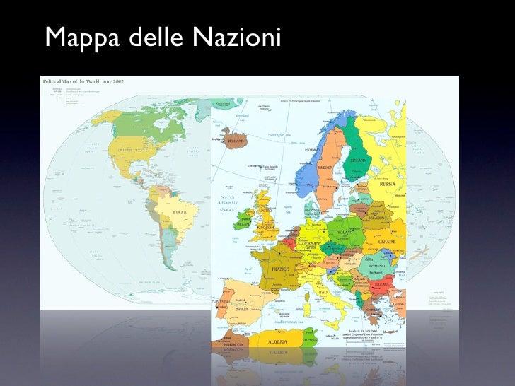 Mappa delle Nazioni