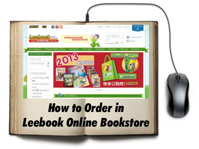 How to Order in Leebook Online Bookstore