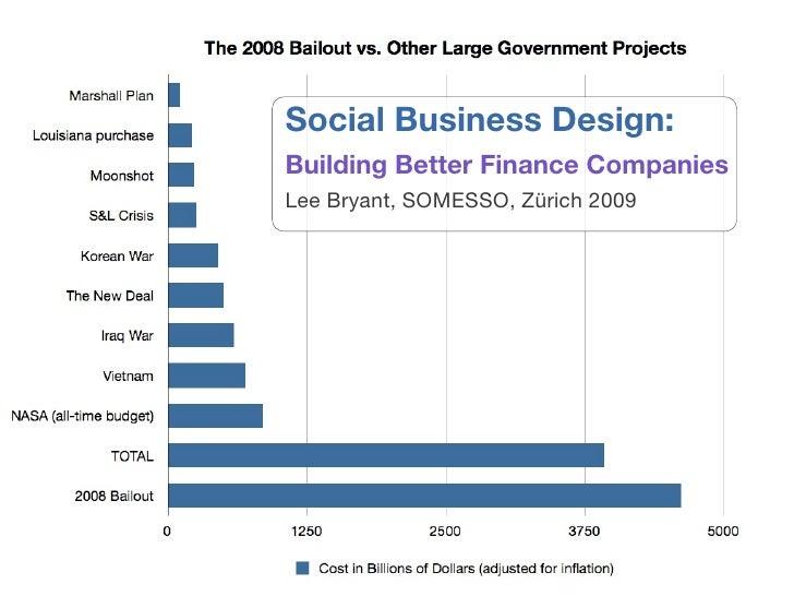 Social Business Design: Building Better Finance Companies Lee Bryant, SOMESSO, Zürich 2009