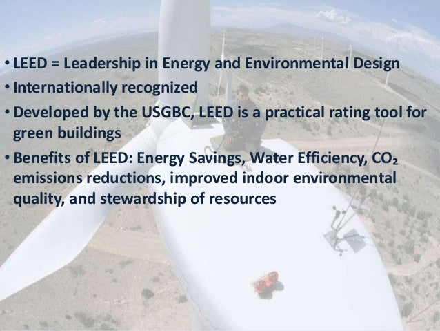 Leed certification leed exam overview by everblue for Benefits of leed