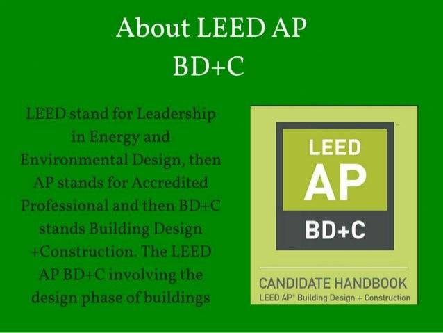 LEED AP BD+C exam: Four week study plan | U.S. Green ...