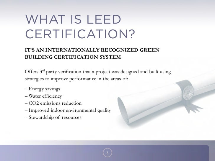 What Is A Leed Certification What Is A Leed Certification