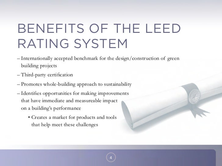 Leed certification improvements silver togold for Benefits of leed