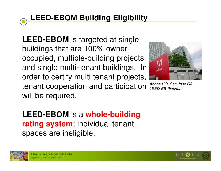 Intro To Leed Ebom