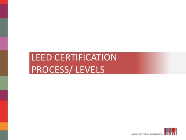 Leed for swe we 14 for Leed levels of certification