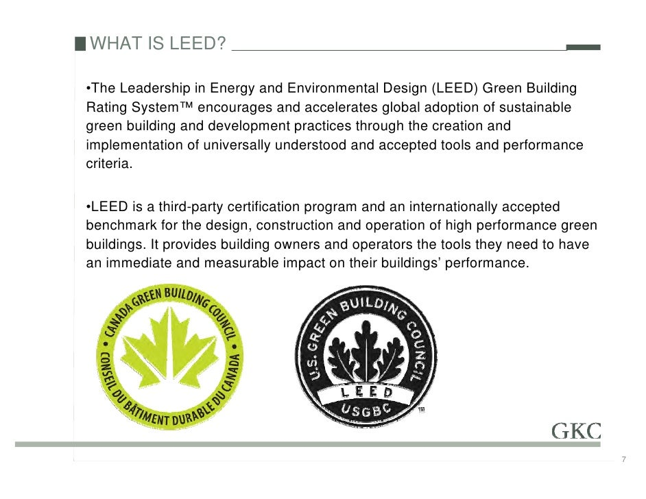 Leed forum 2009 for What is leed