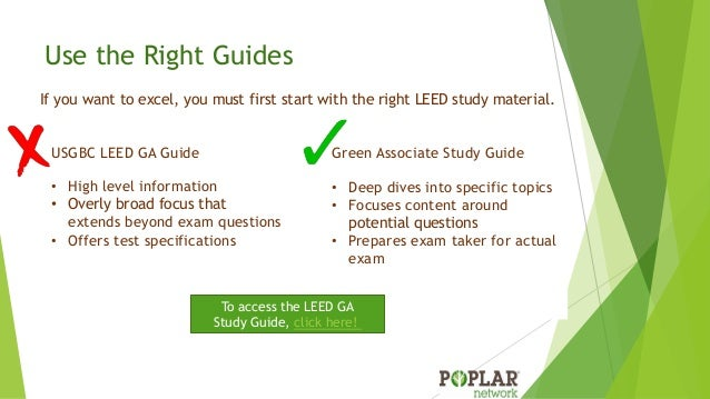 free LEED Green Associate study materials | Studio4 LLC