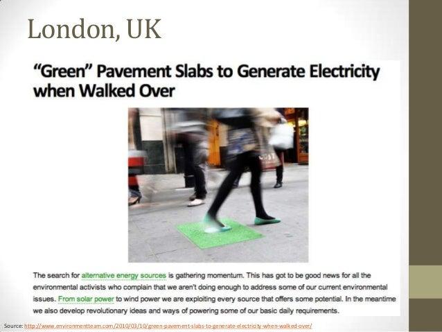 power generating pavement block