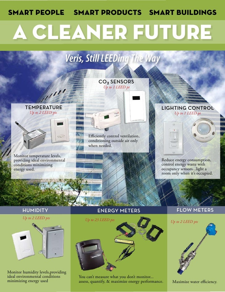 Smart People                        Smart Products Smart buildings      A CLEANER FUTURE                                 V...