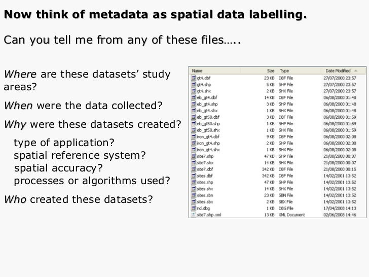 <ul><li>Where  are these datasets' study  </li></ul><ul><li>areas? </li></ul><ul><li>When  were the data collected? </li><...