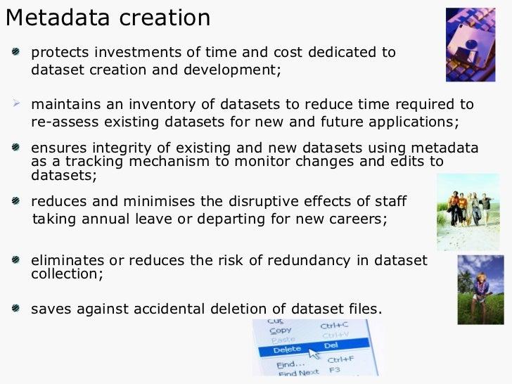 <ul><li>protects investments of time and cost dedicated to  </li></ul><ul><li>dataset creation and development; </li></ul>...