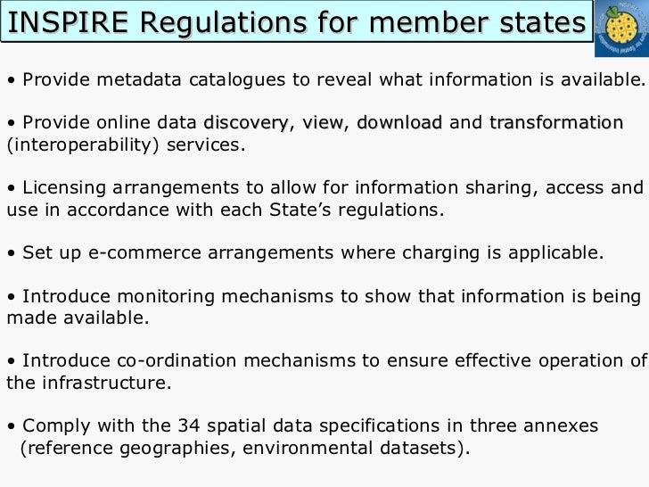 <ul><li>•  Provide metadata catalogues to reveal what information is available. </li></ul><ul><li>•  Provide online data  ...