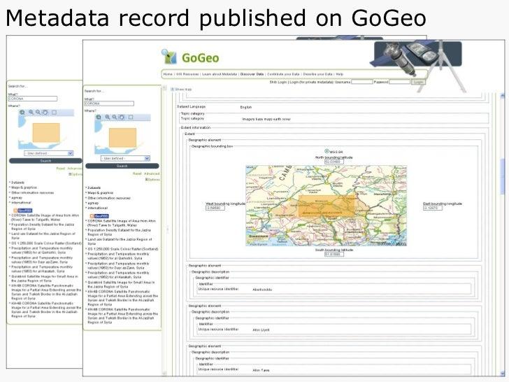 Metadata record published on GoGeo