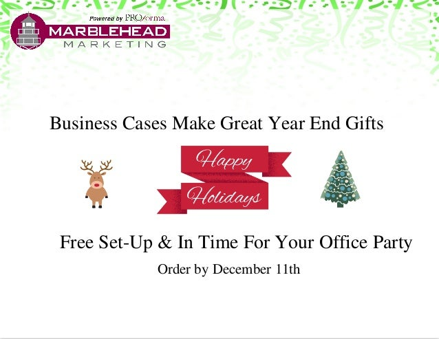 Business cases make great corporate holiday gifts free