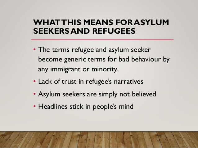 asylum seekers and refugees pdf