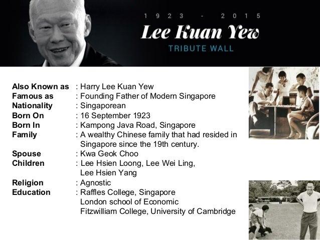 Lee Kuan Yew - A Transformational Leader Slide 3