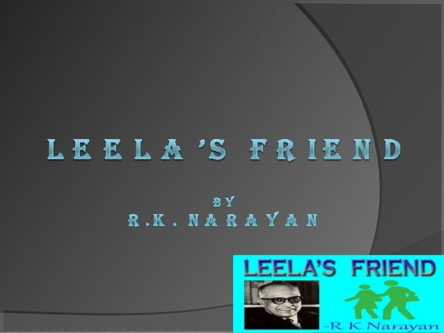 leela's friend by rk narayan pdf