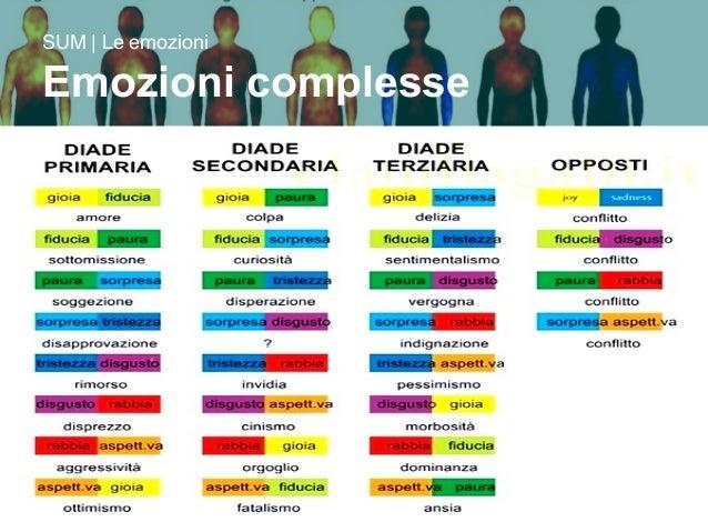 17/09/15 Prof. Gianni Ferrarese 12 SUM | Le emozioni Emozioni complesse