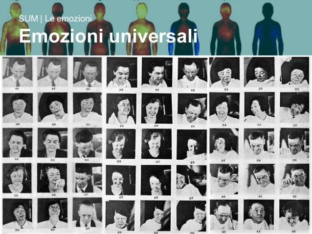 17/09/15 Prof. Gianni Ferrarese 8 SUM | Le emozioni Emozioni universali