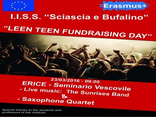 """All the """"leen teen""""students"""" and """"leen teen"""" teachers have been involved in the organization of this """"fundraising"""" event. ..."""