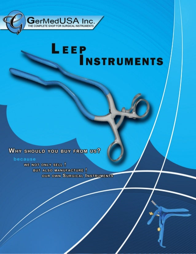 Leep Surgical Instruments from GermedUSA