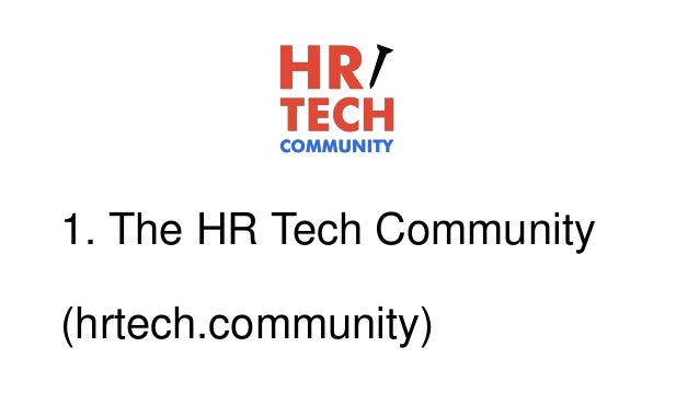 HR Tech and the Employee Experience
