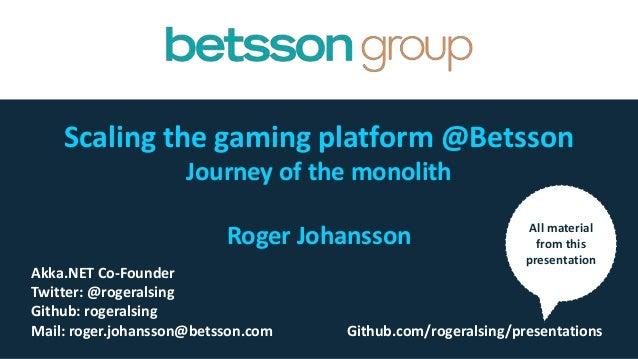 Betsson Git
