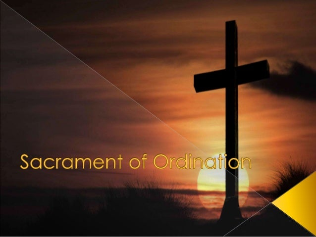› It is a permanent state. Once a person is ordained, he can never back out. Even if he backed out, the sacrament is alrea...
