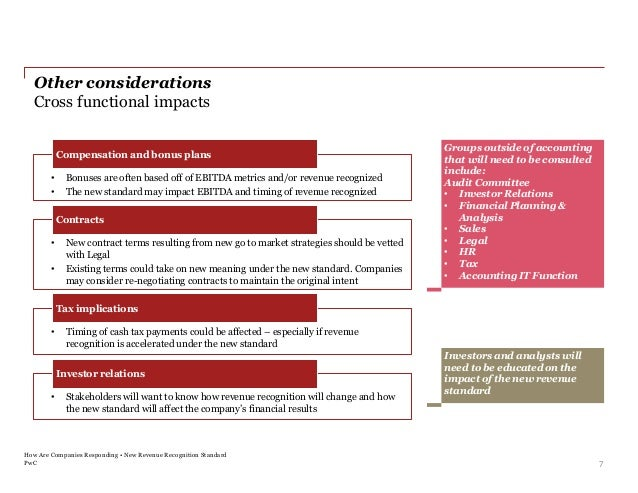 Leeyo and PwC Webinar on IT Impact of ASC 606 Revenue Recognition Rul…