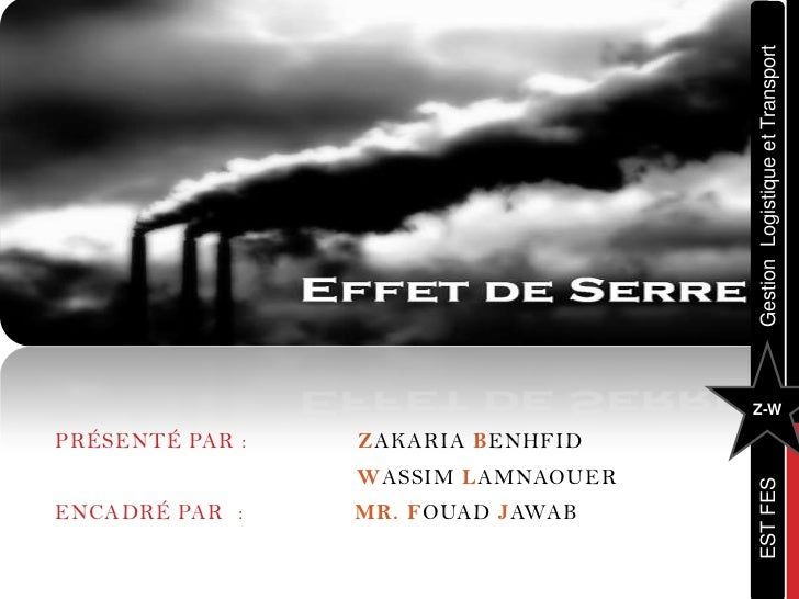 Gestion Logistique et Transport                                    Z-WPRÉSENTÉ PAR :   ZAKARIA BENHFID                 WAS...