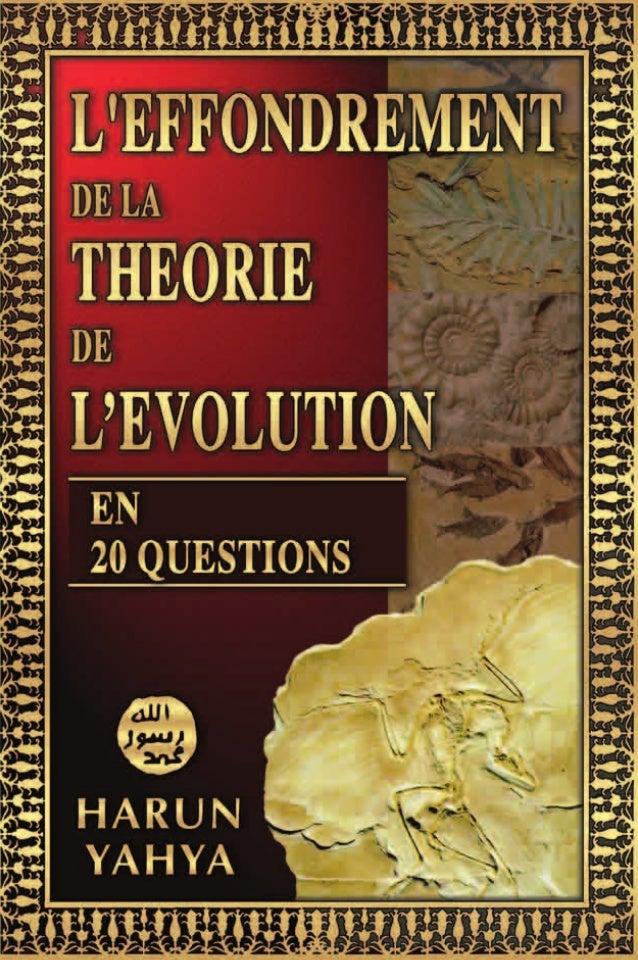 Depuis plus de 150 ans, la théorie de l'évolution est d'actualité et influence profon- dément la vision du monde d'une gra...
