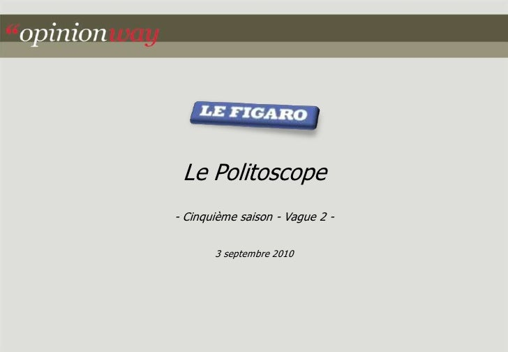 Le figaro politoscope-saison5-vague2