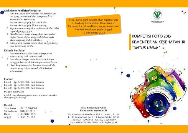 Lomba Foto HKN 2013 (leaflet)