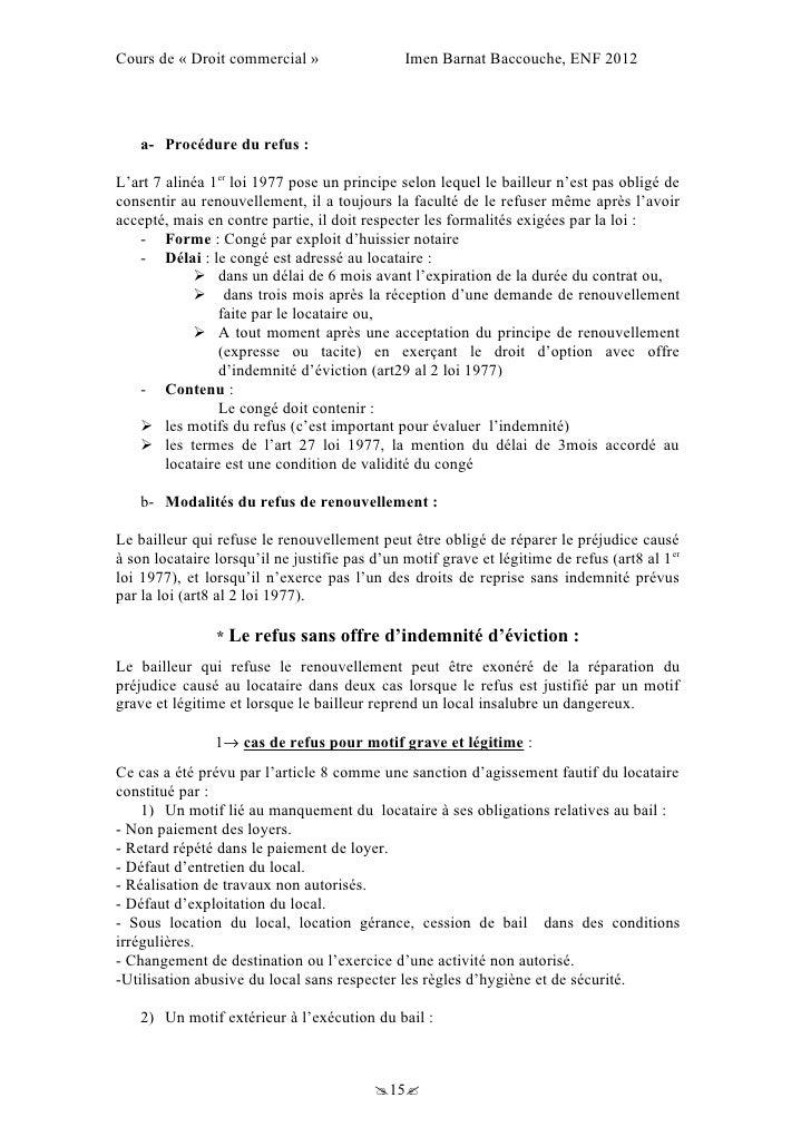 exemple de lettre d u0026 39 eviction