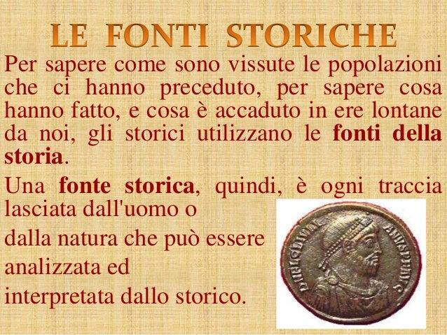 Risultati immagini per fonti storiche