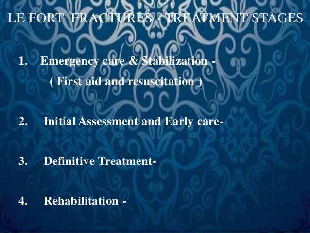 EMERGENCY CARE  • Evaluate the airway -  • Existence & identification of obstruction.  • Manually clear fractured teeth, b...