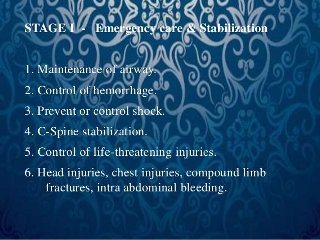 TREATMENT OF BLOOD LOSS &  SHOCK  • Hemorrhage is most common cause of  shock after injury.  • Multiple injury patients ha...