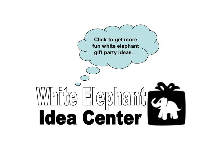 how to play a white elephant gift game