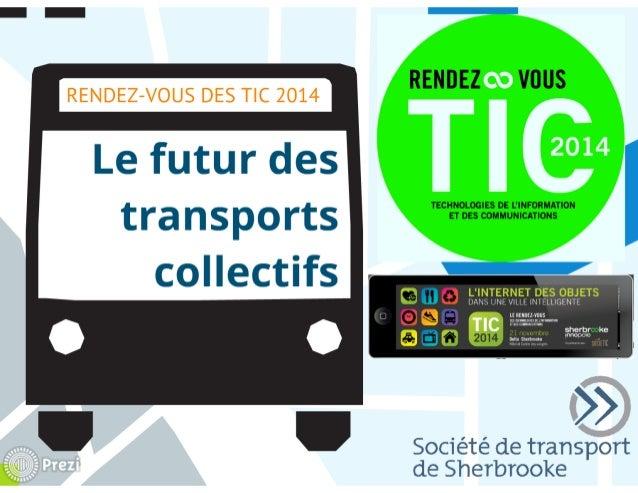 Le futur des transports collectifs - Société de transport de Sherbrooke