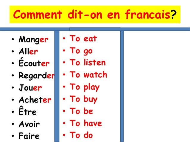 Le futur en francais for Sal9 en francais
