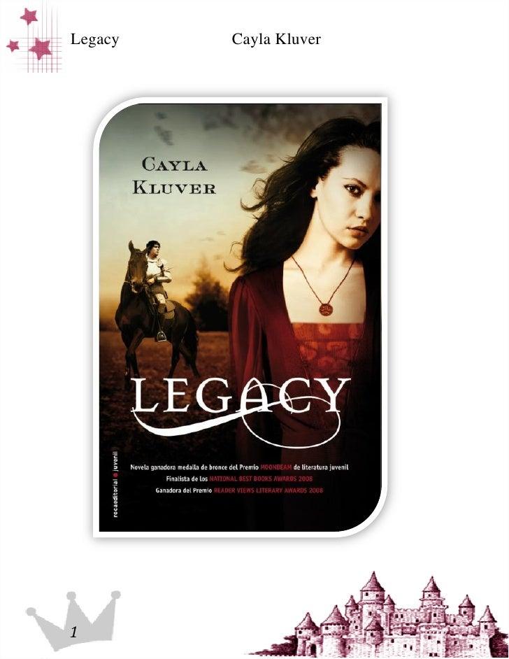 Legacy   Cayla Kluver1