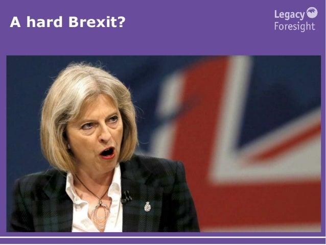 A hard Brexit?