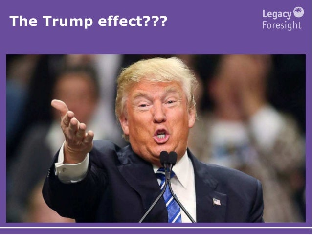 The Trump effect???