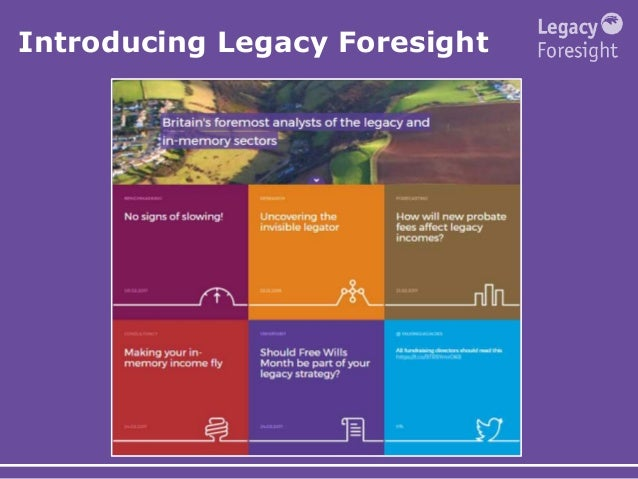 Introducing Legacy Foresight