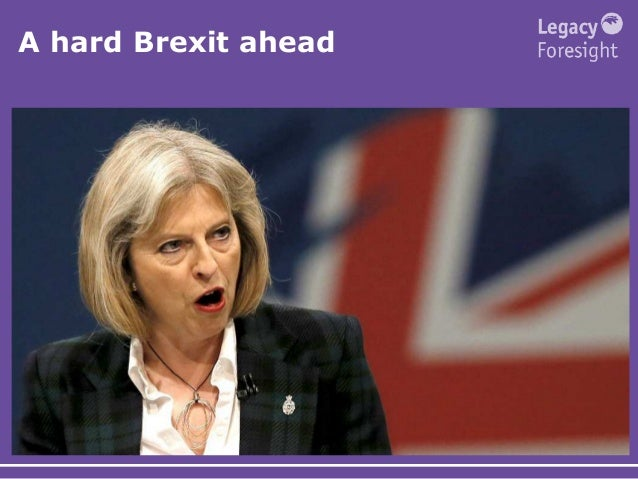 A hard Brexit ahead