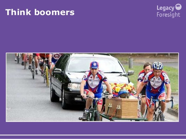 Think boomers