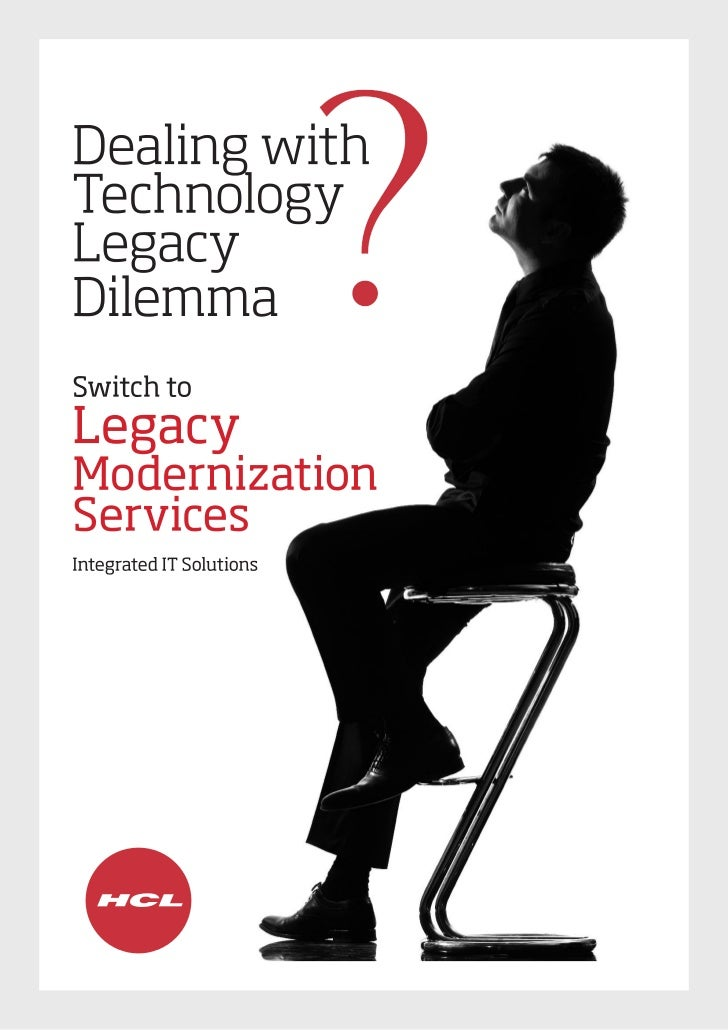 Legacy Modernization Services Brochure: Manufacturing Industry