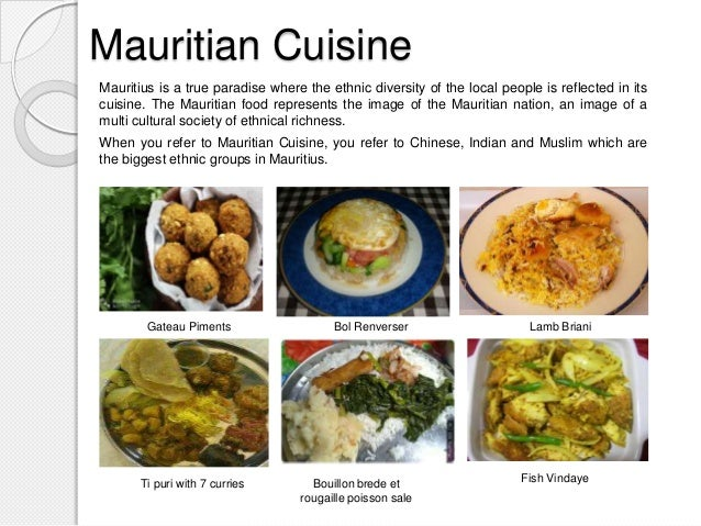 Legacy of mauritius for Asian cuisine history